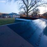WTC 9/11 Memorial Mock Up at the Navy Yard