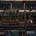 Glenwood power plant graffiti