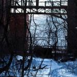 Glenwood power plant graffiti