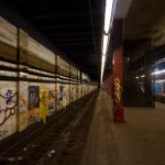 Abandoned Bowery Side Platform, 2012