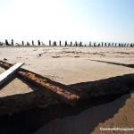 Post-Sandy Ft. Tilden exposes old WW2 Relics