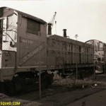 Cross Harbor Locomotives stored on 1st avenue, Brooklyn
