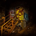 Of Dust and Tails: an abandoned subway tunnel from a forgotten era.