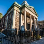 The demolished Astoria Presbyterian Church
