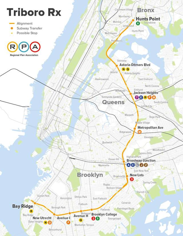 Brooklyn Subway Map Minimal.The Triboro Rx An Rx For Disaster Ltv Squad